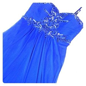 🔹🔹Navy blue evening/prom gown🔹🔹